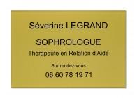 Plaque pro sophrologue