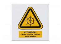 Plaque danger électrique
