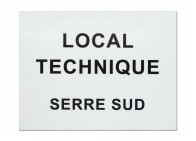 Plaque local technique