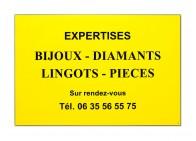 Plaque d'expert bijoutier