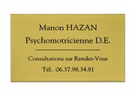 Plaque psychomotricienne