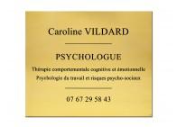 Plaque psychologue du travail