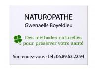Plaque pro Naturopathe