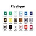 Plastique 60 x 40 cm - image 2
