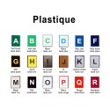 Plastique 30 x 25 cm - image 2