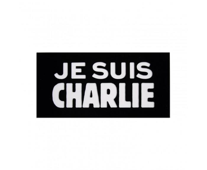 Badge soutien à Charlie Hebdo