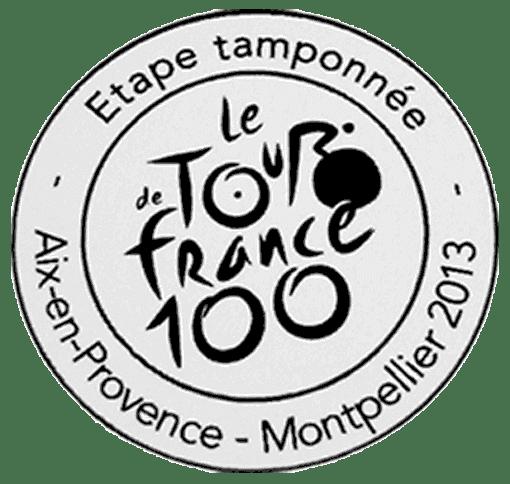 Tampon Tour de France Aix-en-Provence - Montpellier-2