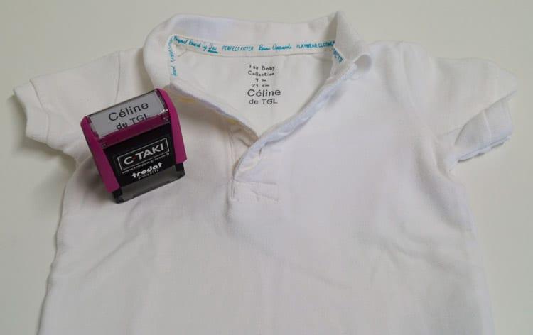 Exemple C-TAKI sur T-Shirt