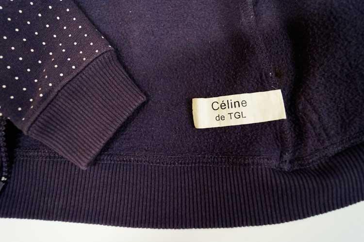 Exemple C-TAKI sur étiquette de gilet