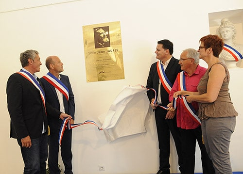 Inauguration de la salle Jean Jaurès à Baillargues