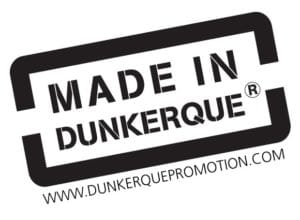 Logo Made in Dunkerque pour tampon
