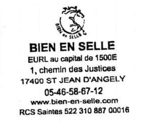 Photo d'un tampon de société avec logo