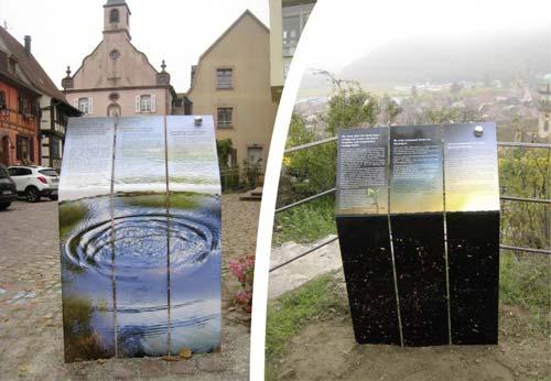 Prix de la Signalétique Icona d'Or 2016 - Boscher Signalétique & Image et ville de Kaysersberg