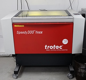 Speedy 300 Flexx Trotec Laser TGL Création