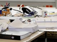 Bureau secrétariat et documents administratifs