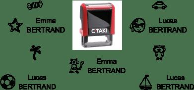 Sélection de motifs pour le tampon C-TAKI