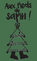 Tampon Noël sapin