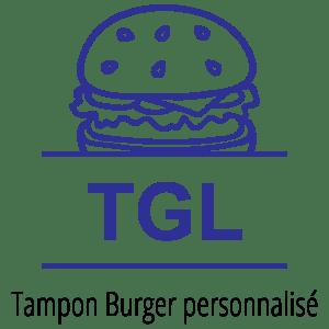 Exemple de tampon Burger personnalisé