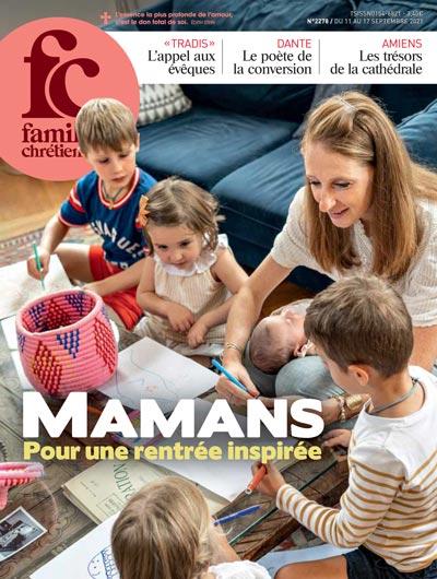 Couverture du magazine Famille Chrétienne du 11 Septembre 2021