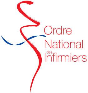 Logo caducée Infirmier pour plaque professionnelle infirmière couleur
