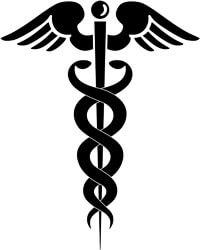 Caducée des professions médicales