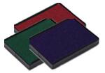 Encrages rouge, vert et bleu
