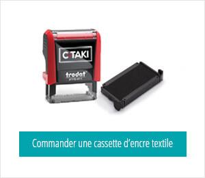 Rechargez votre C-TAKI avec une cassette d'encre textile