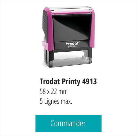 Commander un tampon SCP veterinaire 5 lignes sur Trodat Printy 4913