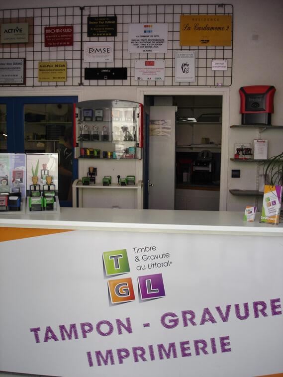Accueil du magasin TGL Montpellier