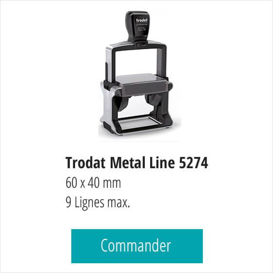 Tampon renouvellement ordonnance Trodat Pro 5274